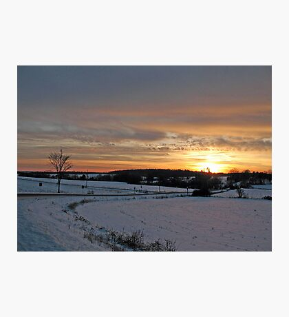 Into the Sunrise Photographic Print