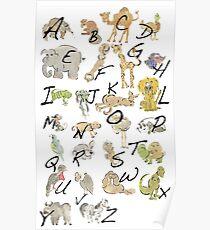 A-Z Poster