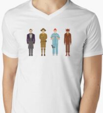 Wes Anderson Collection Men's V-Neck T-Shirt