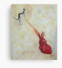 Heart Strings Canvas Print