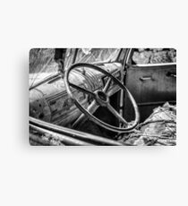 Ababdoned Truck Canvas Print