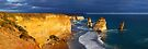 Dramatic Light over the Twelve Apostles, Victoria, Australia by Michael Boniwell