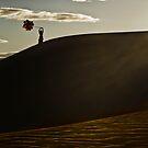 A Mesquite Sunrise by Joseph Fronteras