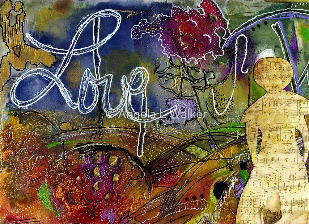 ROSEBUD Sings a Sweet LOVE Lullaby by © Angela L Walker