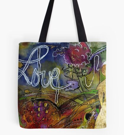 ROSEBUD Sings a Sweet LOVE Lullaby Tote Bag
