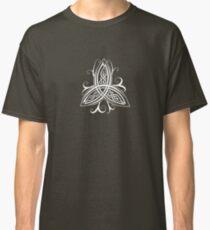 Fancy Trinity B - Knotwork - White Classic T-Shirt