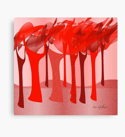 Redscape 2 Canvas Print