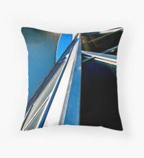Blue Sky - Art Gallery of Alberta Throw Pillow