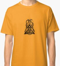Trinity Fire A - Knotwork - Black Classic T-Shirt