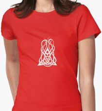 Trinity Fire A - Knotwork - White T-Shirt