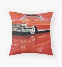 1959 Cadillac Eldorado Biarritz Throw Pillow