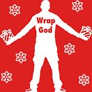 Christmas Wrap God by thehiphopshop
