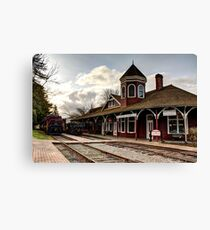 Snoqualmie Depot Canvas Print