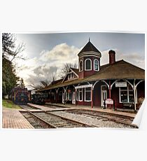 Snoqualmie Depot Poster