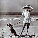 1960's Beach Hat. by Ian A. Hawkins