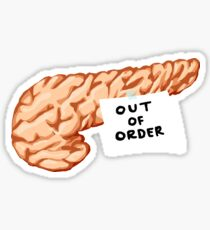 Out of Order Pancreas Sticker