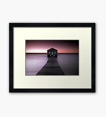 Matilda Bay.... Framed Print