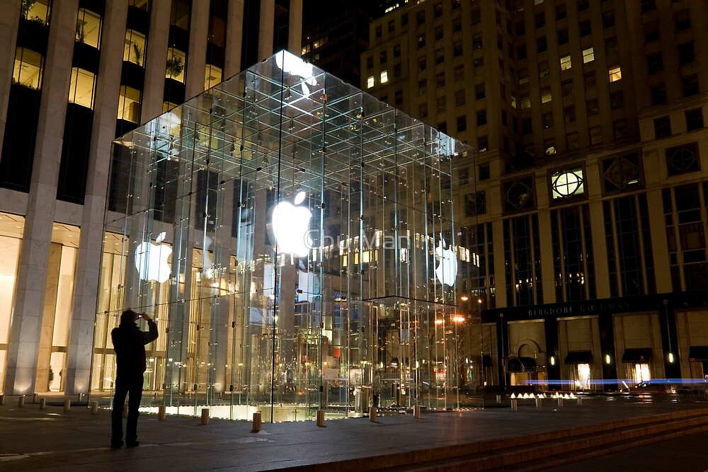 Square Apple, New York City by Chu Man