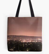 Mount Martha after dark  (red filter) Tote Bag