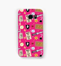 Once Upon A Time | Pink Samsung Galaxy Case/Skin