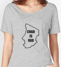 Chad Is Rad - Black Women's Relaxed Fit T-Shirt