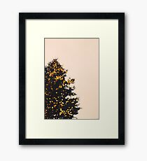 Merry & Bright Framed Print