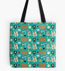 Once Upon A Time | Turquoise Tote Bag