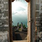 Agung from Lempuyang temple by Michael Brewer