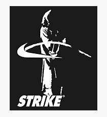 STRIKE NIKE (dark backgroung) Photographic Print