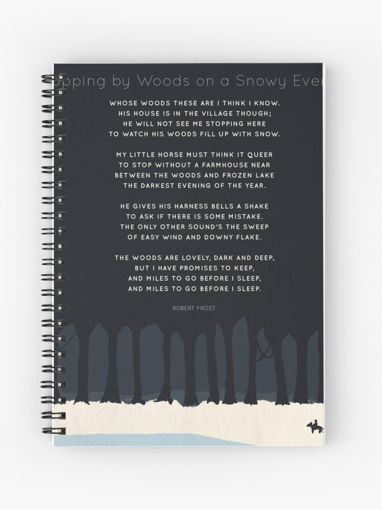 151ee48c0365 Robert Frost | Spiral Notebook