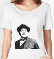 Hercule Poirot Women's Relaxed Fit T-Shirt