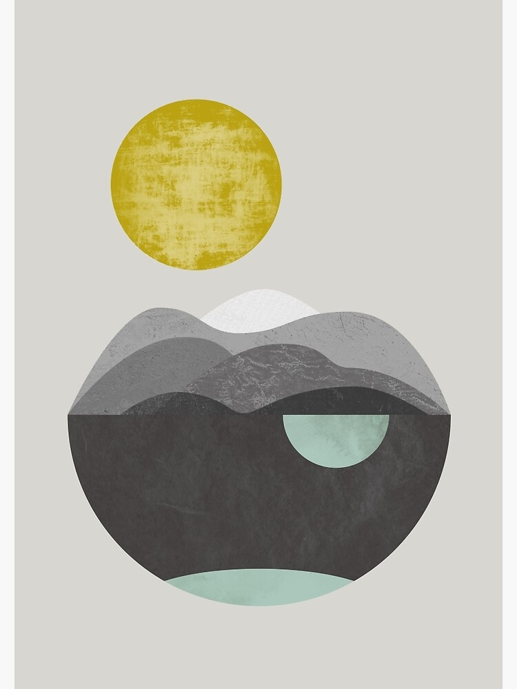 Dunes, geometric art by FLATOWL