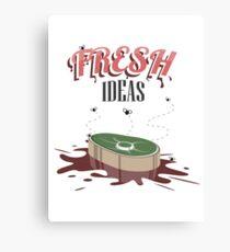 Fresh Ideas Canvas Print
