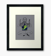 The Sailor and the Mermaid Framed Print