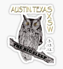 SXSW Shirt Sticker