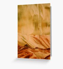 Rain - Encaustic Painting Greeting Card