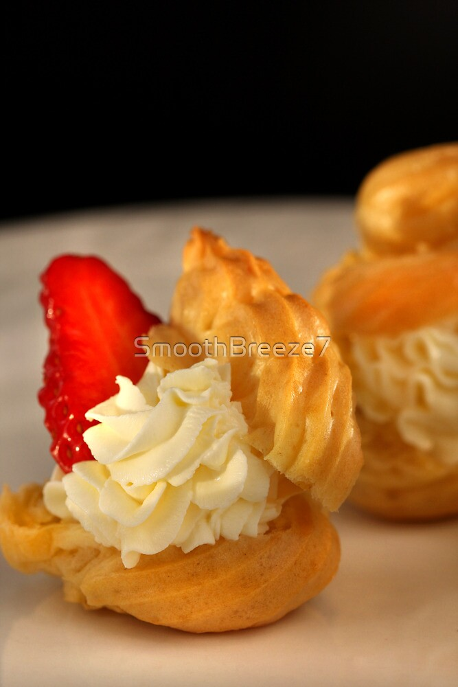 Strawberry Sweets Cream Puffs  by SmoothBreeze7