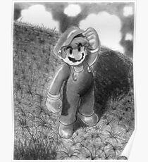 Mario Drawing Poster