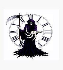 Grim Reaper Photographic Print