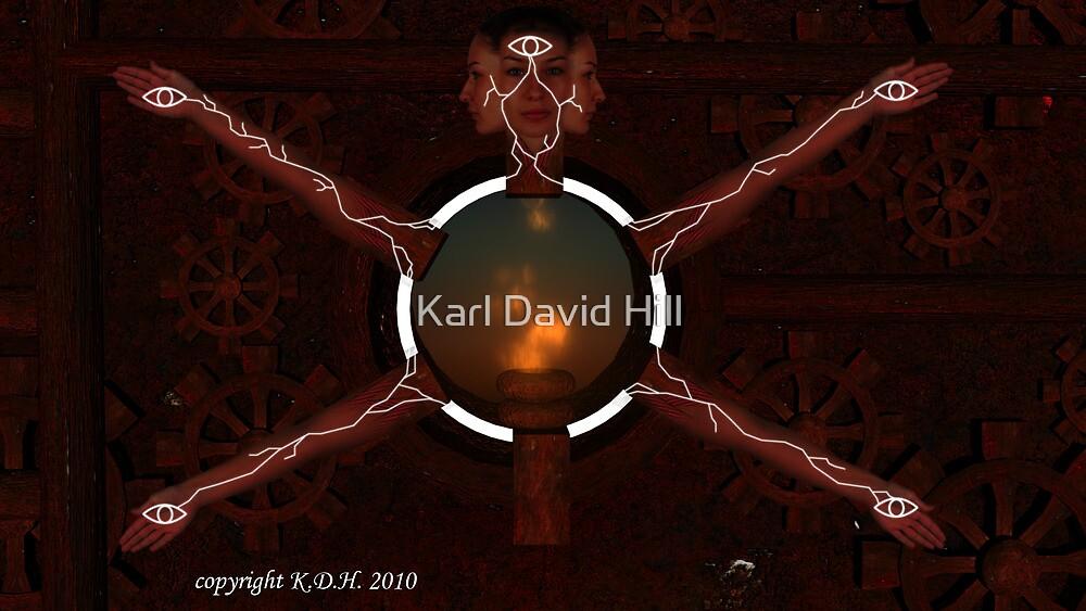 Universal machine by Karl David Hill
