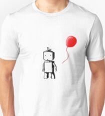 Robot Balloon Slim Fit T-Shirt