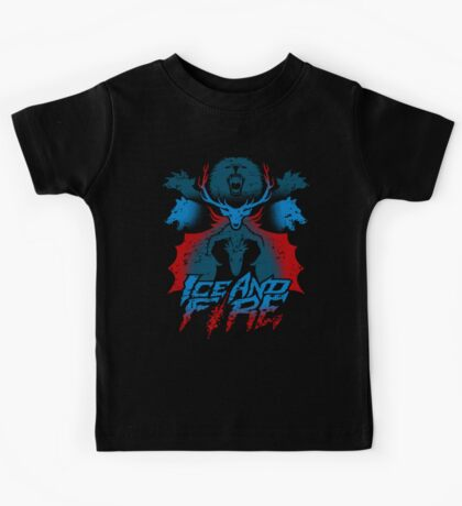 ICE AND FIRE Kids Clothes