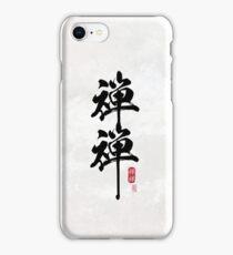ZenZen (black) iPhone Case/Skin