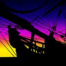 Sunset Sail by Marija