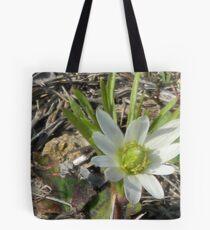 Windflower, Wood Anemone, Thimbleweed Tote Bag