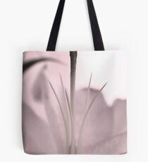 Monochrome Lily Tote Bag