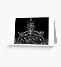 The royal crown Greeting Card