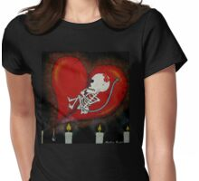 Heartbreaking Miscarriage Womens Fitted T-Shirt