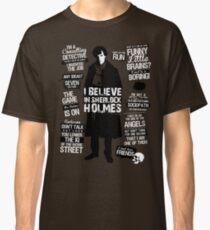 Detective Quotes Classic T-Shirt