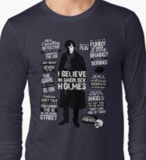 Detective Quotes Long Sleeve T-Shirt